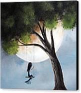 Time Alone By Shawna Erback Canvas Print by Shawna Erback