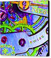 Time In Abstract 20130605p36 Canvas Print by Wingsdomain Art and Photography
