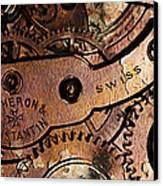 Time In Abstract 20130605rust Long Canvas Print by Wingsdomain Art and Photography