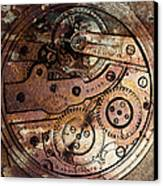 Time In Abstract 20130605rust Square Canvas Print by Wingsdomain Art and Photography