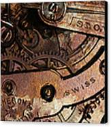 Time In Abstract 20130605rust Canvas Print