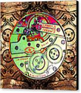 Time Machine 20130606 Canvas Print by Wingsdomain Art and Photography