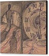 Time Slaves Canvas Print by Jack Goresko
