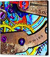 Time Waits For Nobody 20130605 Canvas Print by Wingsdomain Art and Photography