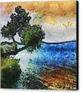 Time Well Spent - Medina Lake Canvas Print