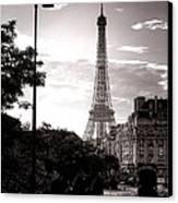 Timeless Eiffel Tower Canvas Print