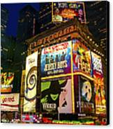 Times Square Canvas Print by Svetlana Sewell