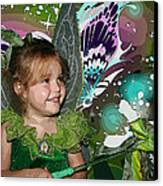 Tinkerbell Canvas Print by Ellen Henneke