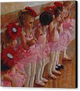 Tiny Dancers Canvas Print by Jeanne Young