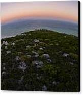 Tip Of The World Canvas Print by Aaron Bedell