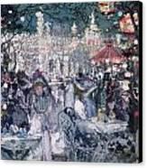 Tivoli Gardens Canvas Print by James Kay