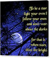 To Be A Star Canvas Print by Mike Flynn
