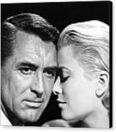 To Catch A Thief Cary Grant And Grace Kelly Canvas Print