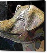 To Market We Go Canvas Print by Tim Allen