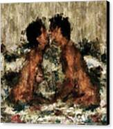 Together Canvas Print by Kurt Van Wagner
