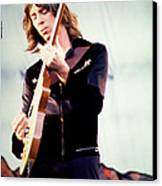 Tom Scholz Of Boston-day On The Green 1 In Oakland Ca 5-6-79 1st Release Canvas Print by Daniel Larsen