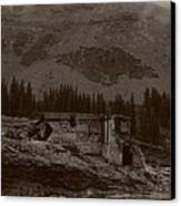 Tomboy Ghost Town I Canvas Print