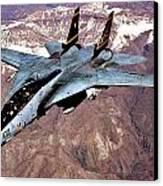 Tomcat Over Iraq Canvas Print