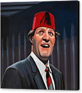 Tommy Cooper Canvas Print by Paul Meijering
