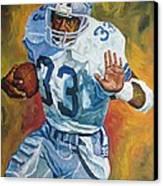 Tony Dorsett - Dallas Cowboys  Canvas Print by Mike Rabe