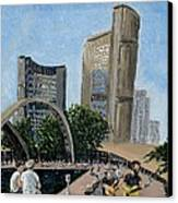 Toronto City Hall Canvas Print