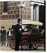 Toronto Traffic Cop 1912 Canvas Print