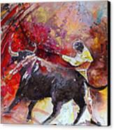 Toroscape 47 Canvas Print by Miki De Goodaboom