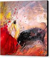 Toroscape 48 Canvas Print by Miki De Goodaboom