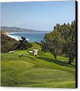 Torrey Pines Golf Course North 6th Hole Canvas Print by Adam Romanowicz