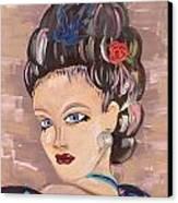 Torri Canvas Print by Karen Carnow