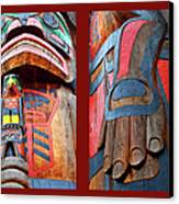 Totem 2 Canvas Print by Theresa Tahara