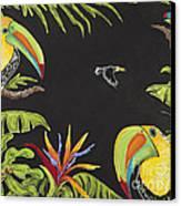Toucan Fun Canvas Print by Nickie Bradley
