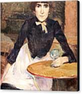 Toulouse Lautrec's A La Bastille -- Jeanne Wenz Canvas Print by Cora Wandel