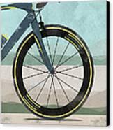 Tour Down Under Bike Race Canvas Print by Andy Scullion
