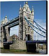 Tower Bridge London Canvas Print by Heidi Hermes