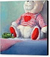 Toy Bear #1 Canvas Print by Rich Kuhn