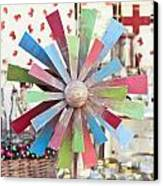 Toy Windmill Canvas Print by Tom Gowanlock