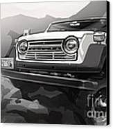 Toyota Fj55 Land Cruiser Canvas Print