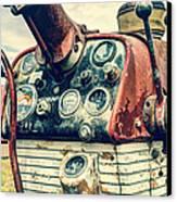 Tractor Dash - Farmall 560 Diesel Canvas Print