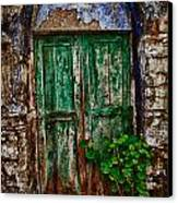 Traditional Door Canvas Print