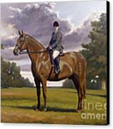 Traditional Portrait Canvas Print by John Silver