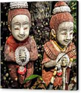 Traditional Thai Welcome Canvas Print by Adrian Evans