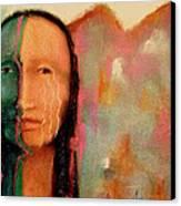 Trail Of Tears Canvas Print by Johanna Elik