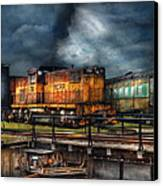 Train - Let's Go For A Spin Canvas Print