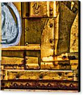 Trainworks.83735 Canvas Print by Gary LaComa