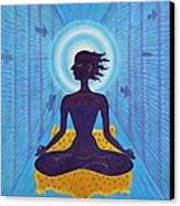 Transcendental Meditation Canvas Print
