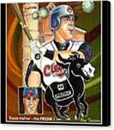 Travis Hafner The Pronk Canvas Print
