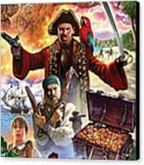 Treasure Island Canvas Print by Steve Crisp