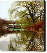 Tree By The River  Canvas Print by Mark Ashkenazi