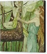 Tree Fey Canvas Print